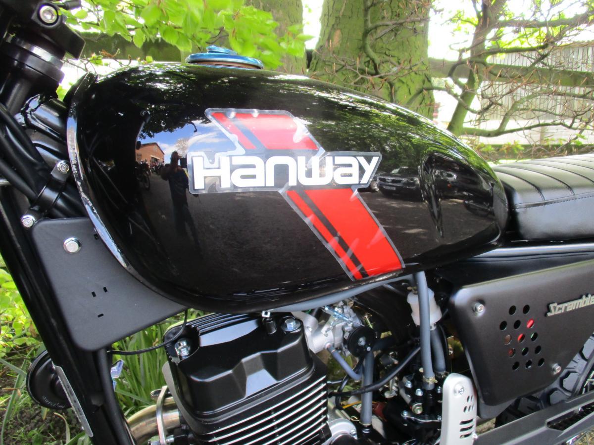 2020 HANWAY MOTOR LTD HS 125 SCRAMBLER E4