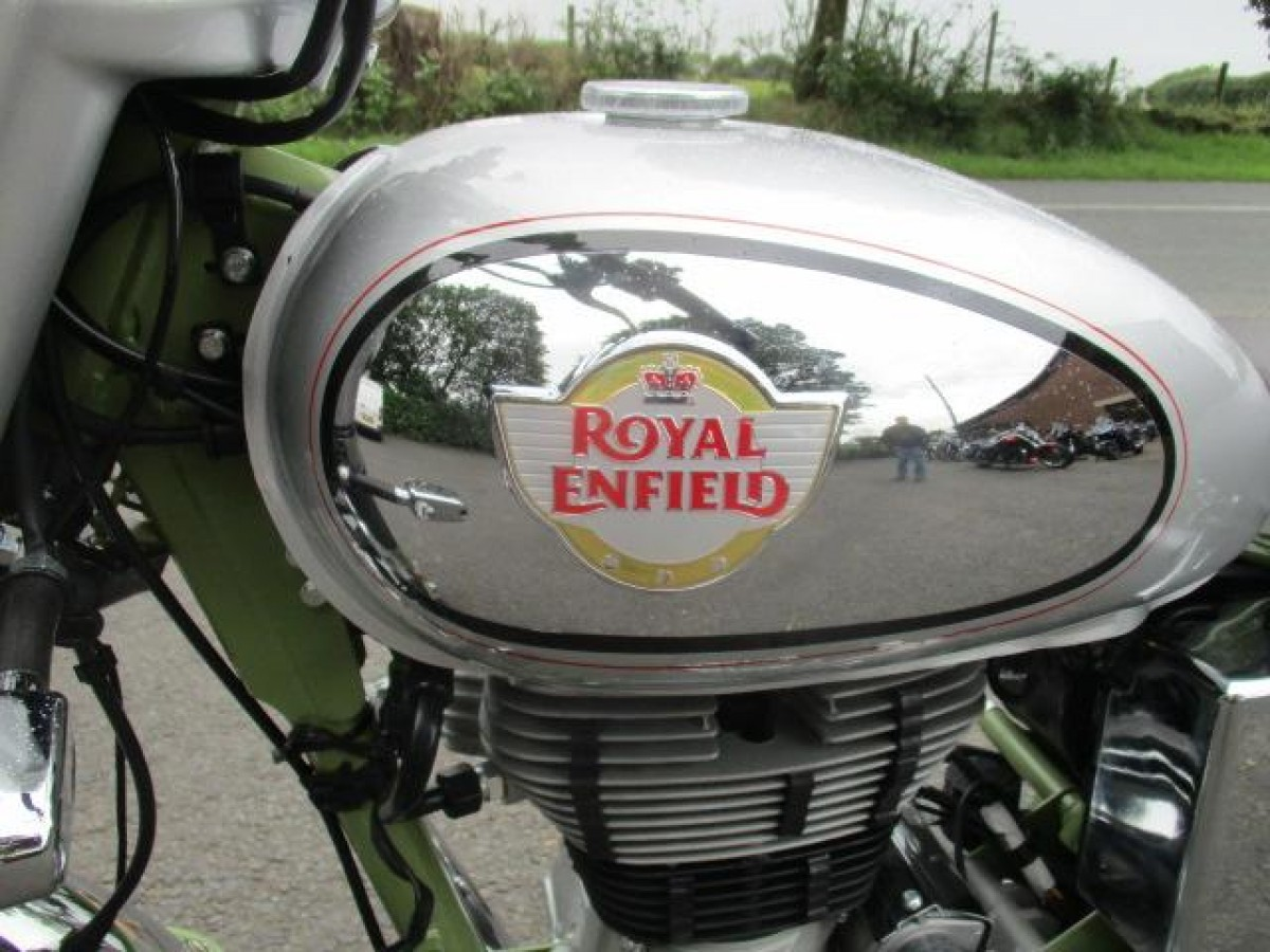 ROYAL ENFIELD BULLET TRIALS 500 2020
