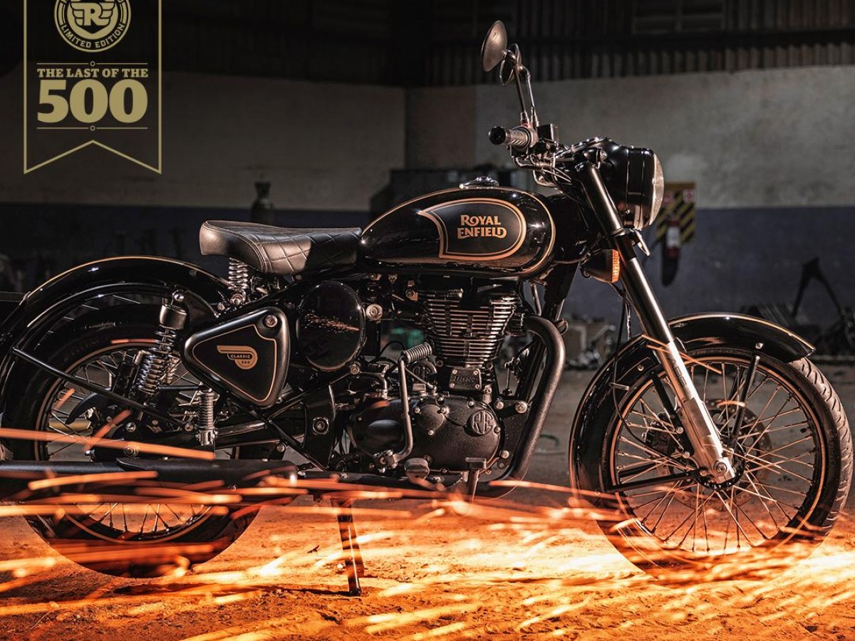 ROYAL ENFIELD CLASSIC TRIBUTE 2020