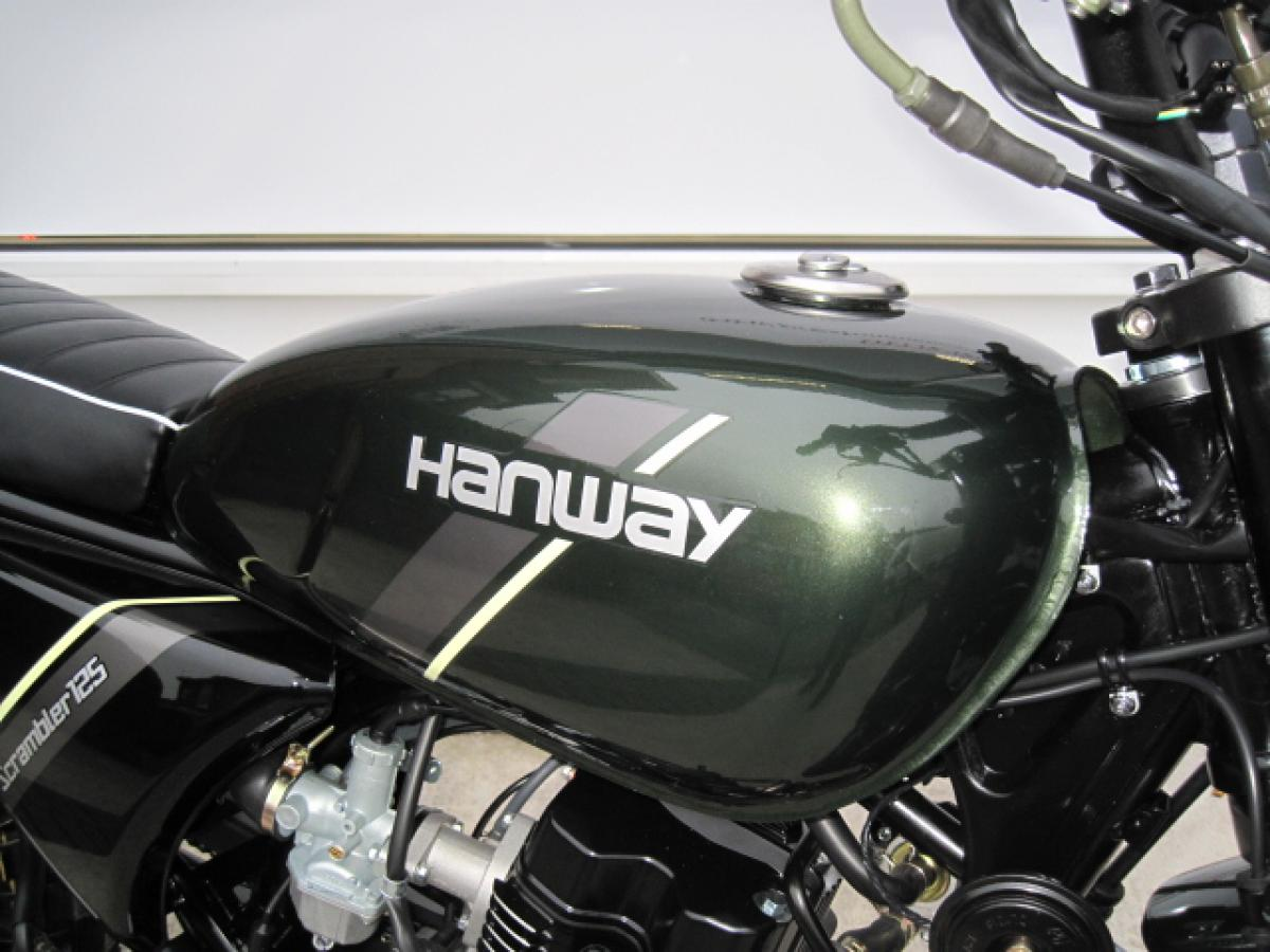 2020 HANWAY HS125 SCRAMBLER