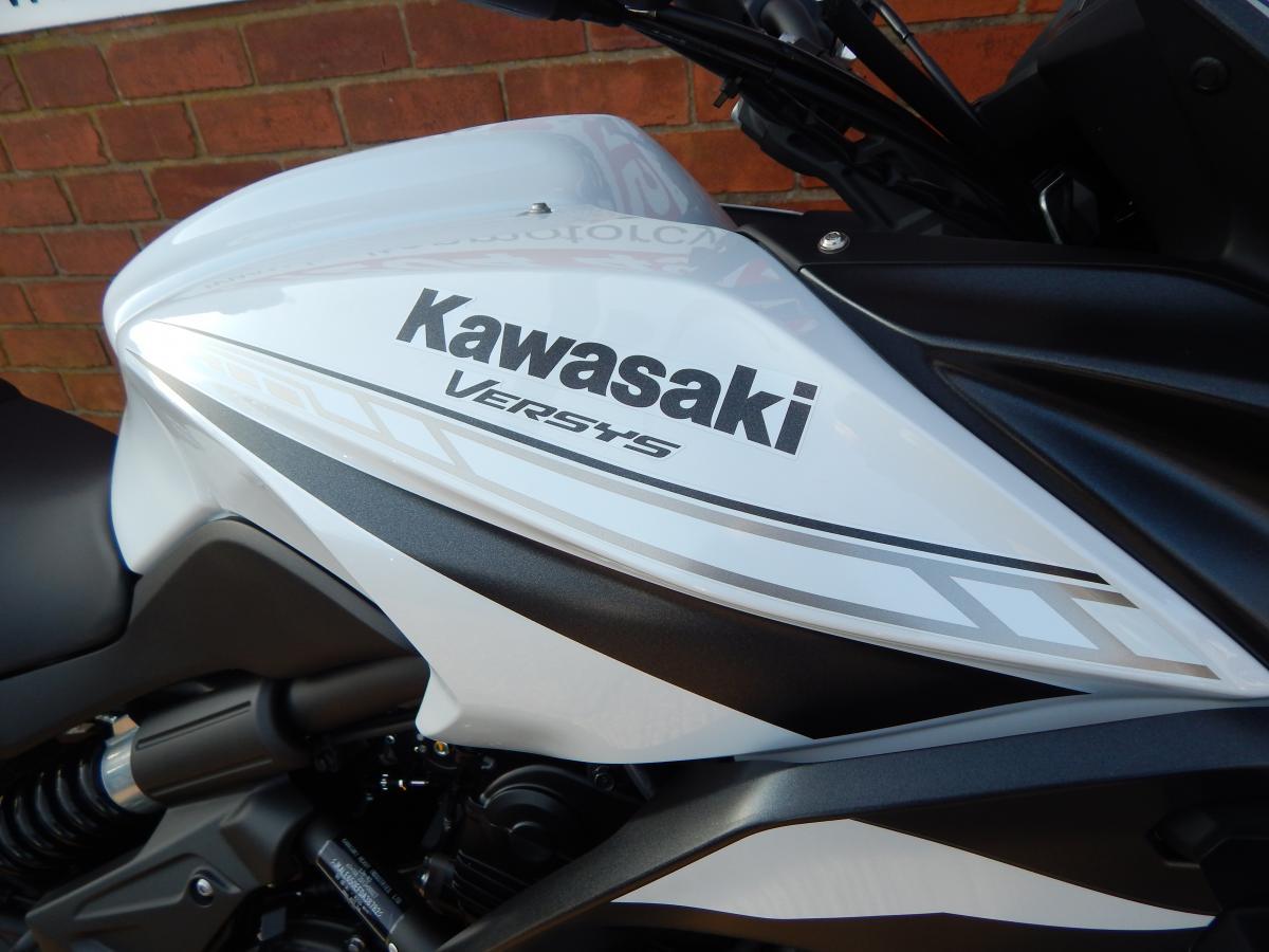 KAWASAKI KLE650FLF DEMO 2020