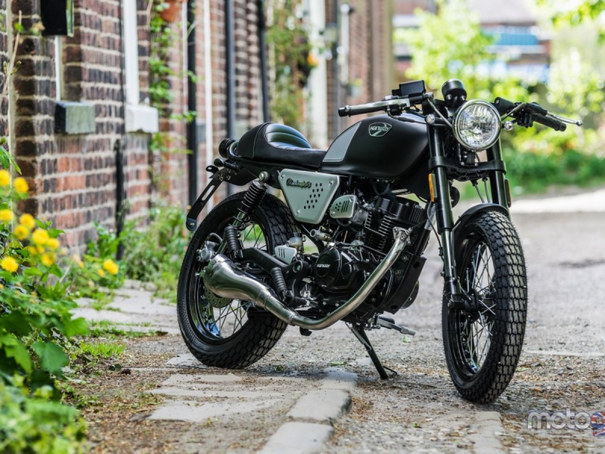 For Sale Hanway Black Cafe Racer 125cc 2199 00 Wigan Motorcycles