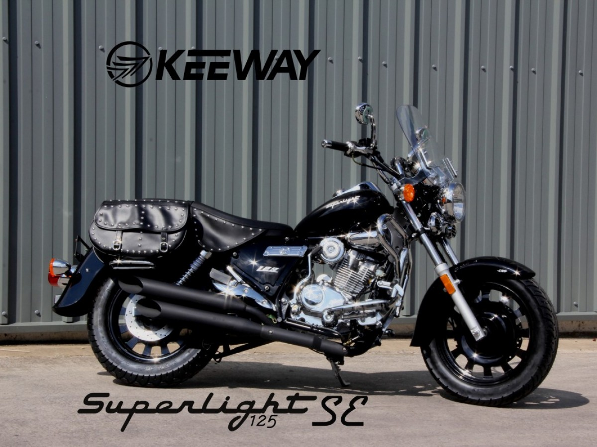 Keeway Superlight 125cc SE SECURITY CHAIN WORTH £100 2021
