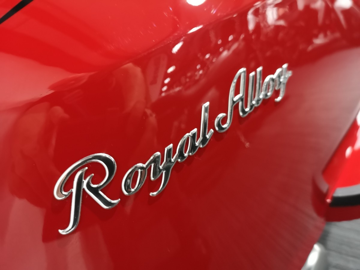 Royal Alloy GT 125cc Air Cooled CBS 2021
