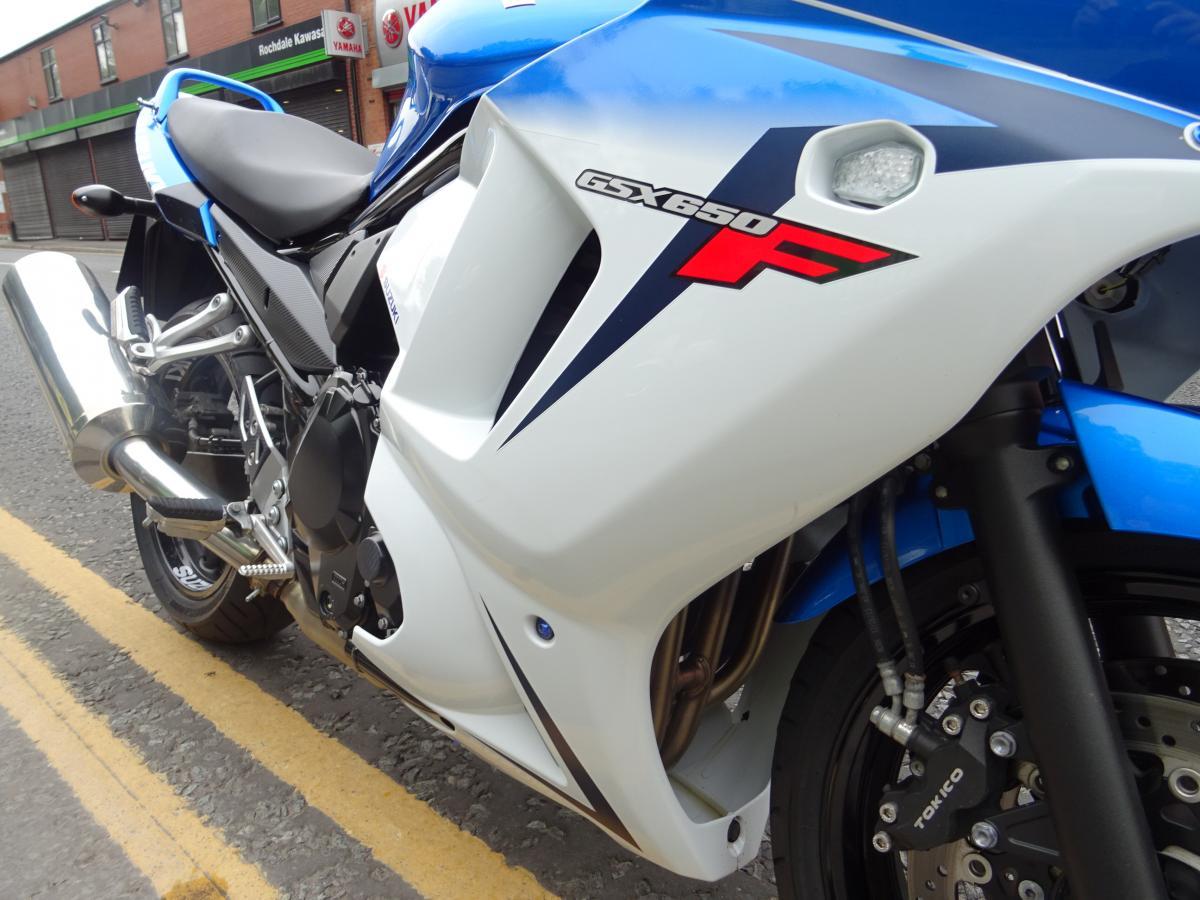 SUZUKI GSX650F L2 2014