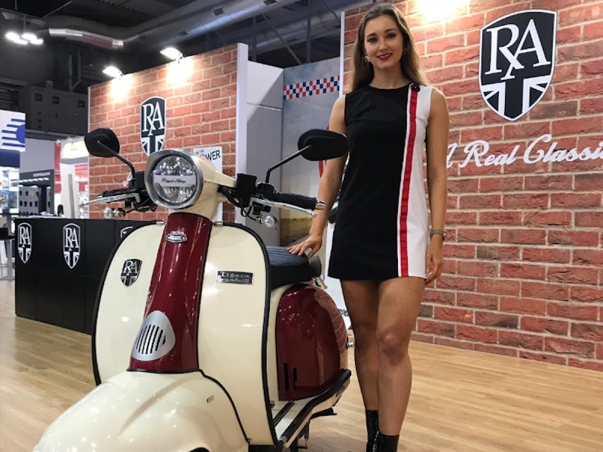 Royal Alloy TG 125cc S LC ABS 2020