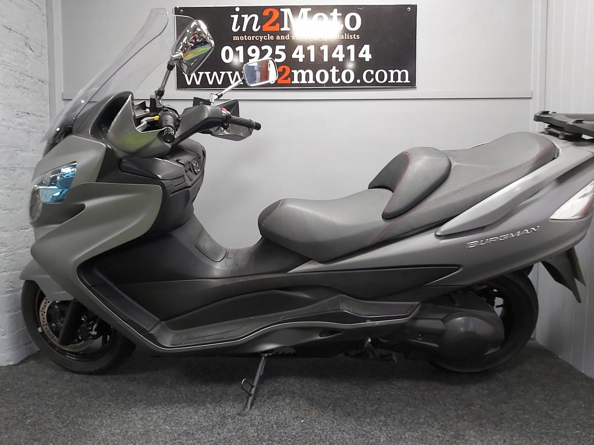 Suzuki AN400ZA L4 2014
