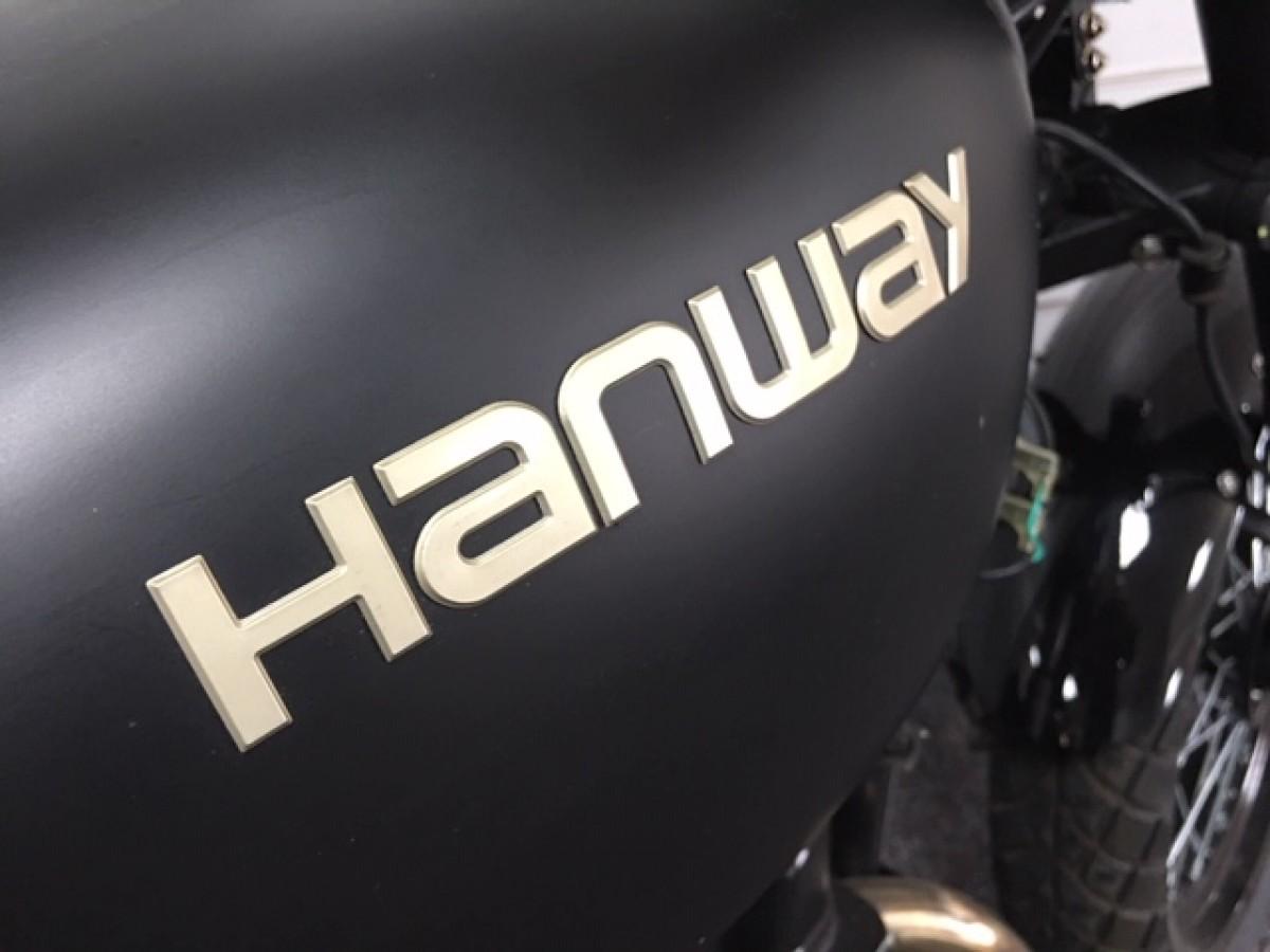 HANWAY HC 125 CAFE RACER E3 2016