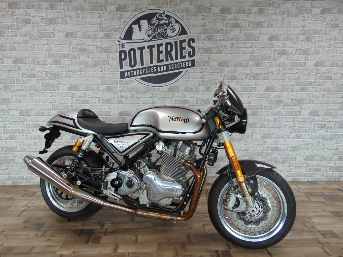 For Sale Norton Commando 961 Cafe Racer 14999 00 The Potteries Motorcycles And Scooters