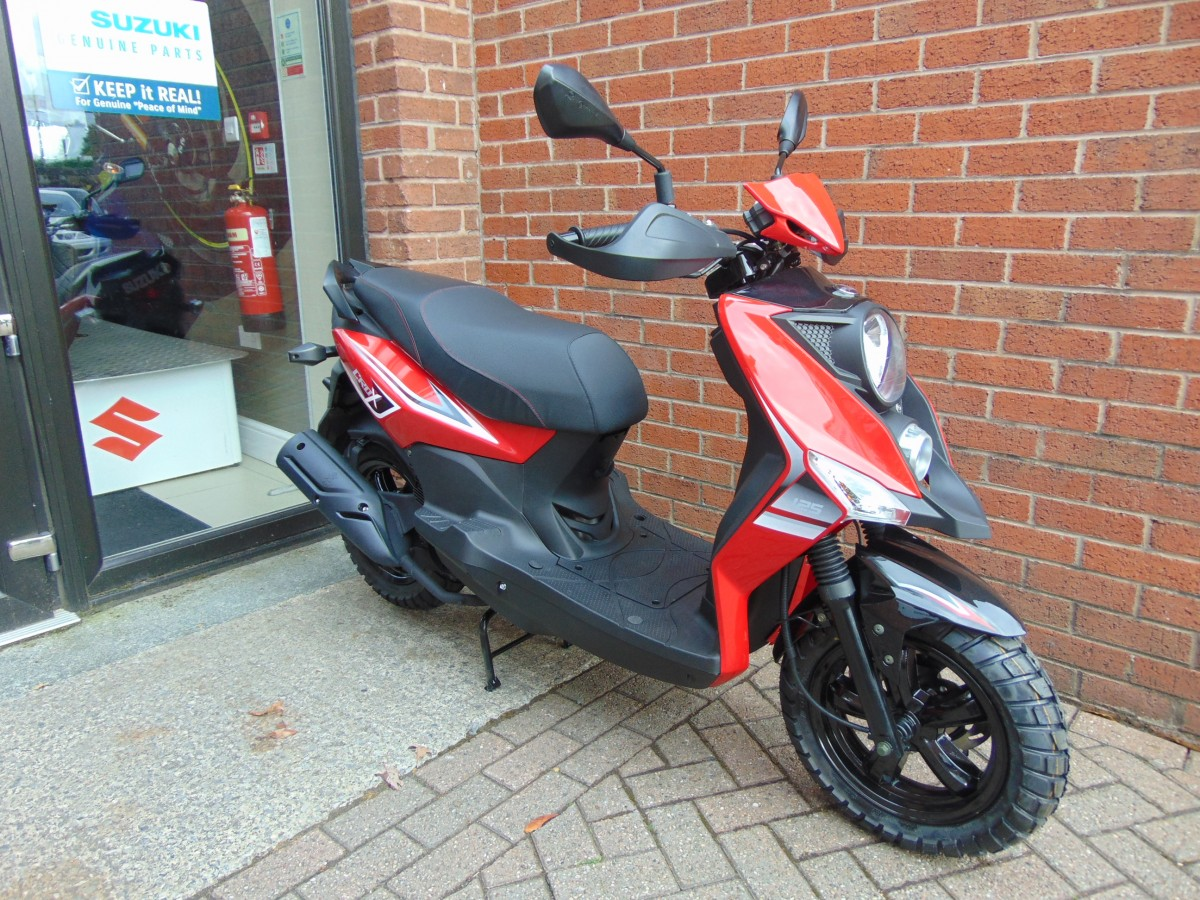 Sym Crox 125cc AC 2021