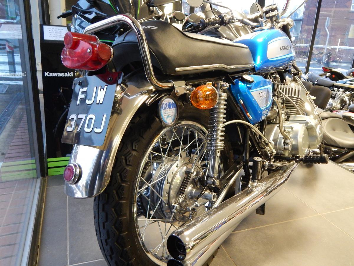 Kawasaki H1 1970
