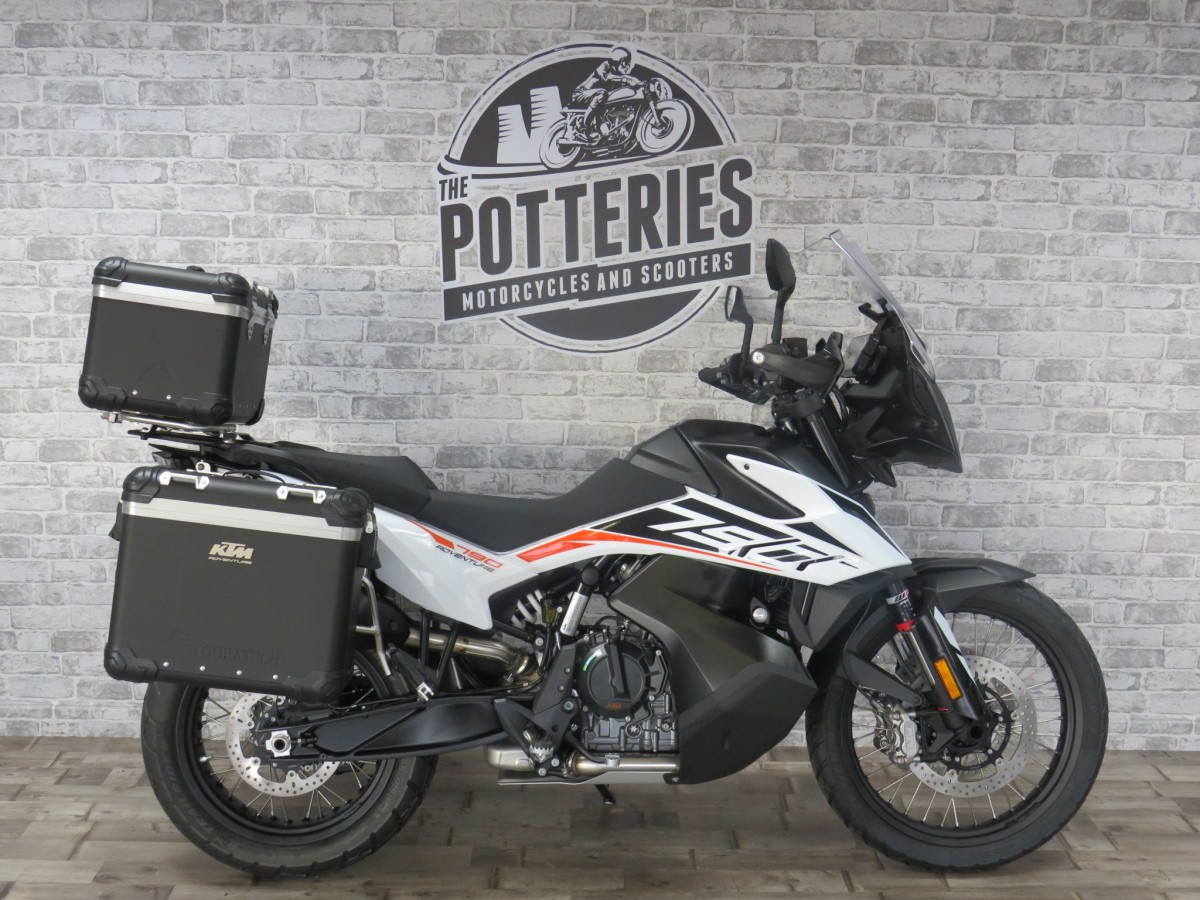 KTM 790 Adventure - Touratech luggage 2020