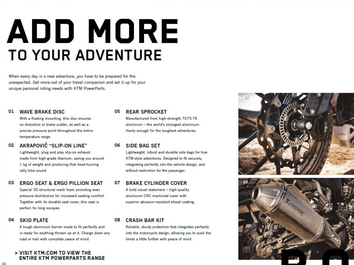 KTM 390 Adventure Touring 2020