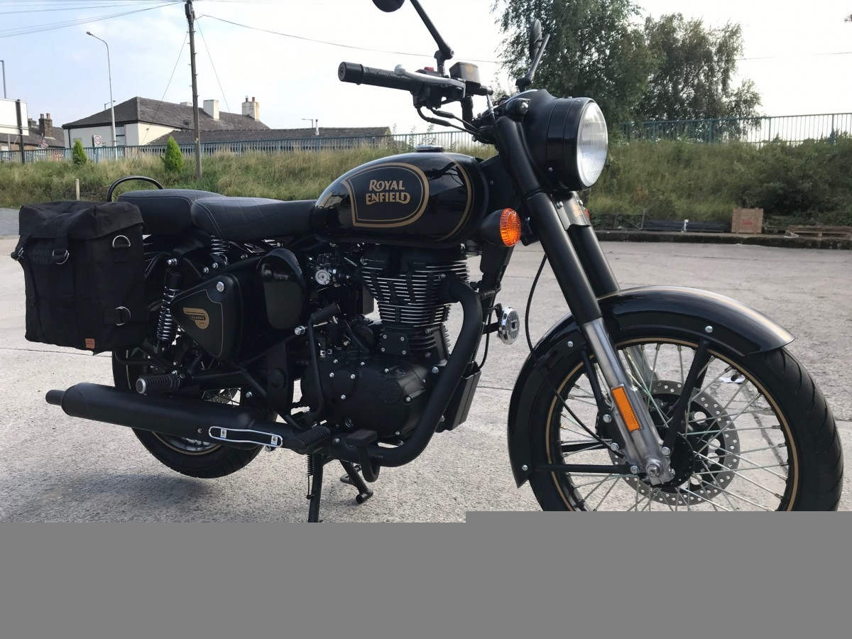 2020 Royal Enfield Classic 500 Tribute Black