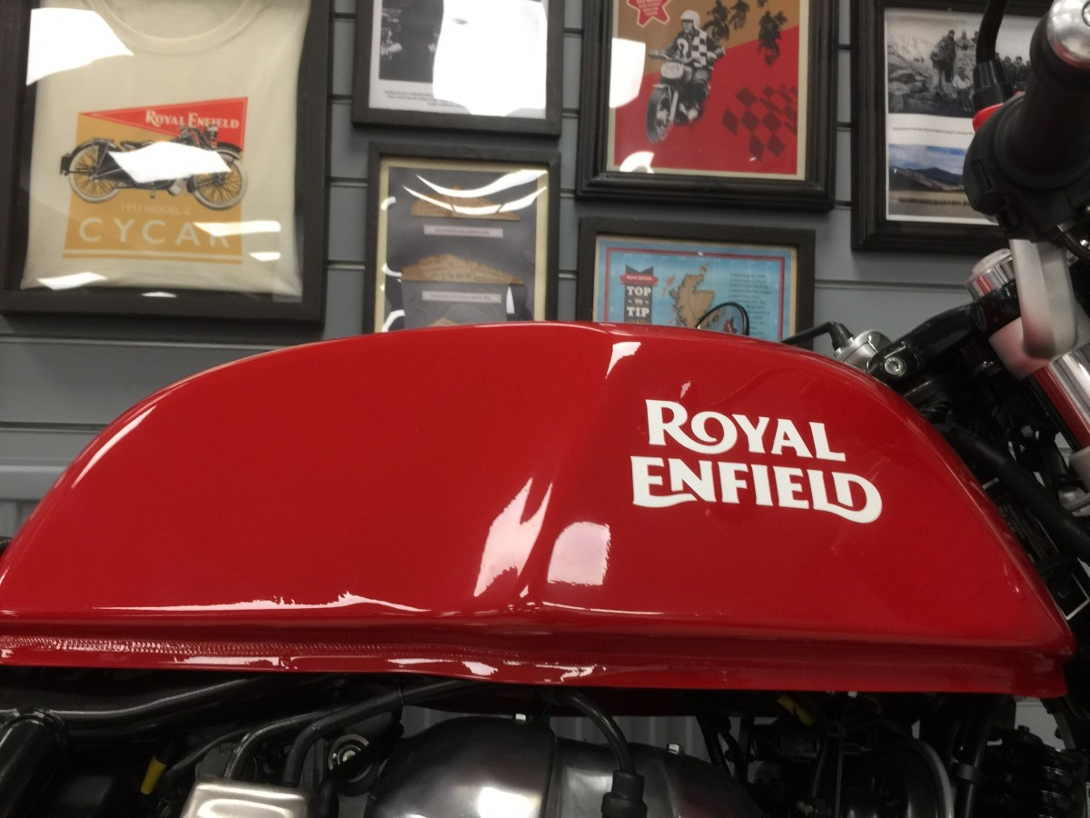 Royal Enfield Continental GT 650 Twin E5 2021