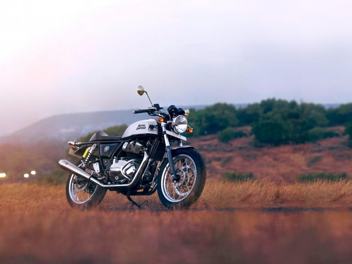 Royal Enfield Continental GT 650 Twin (Mister Clean, Chrome) 2020