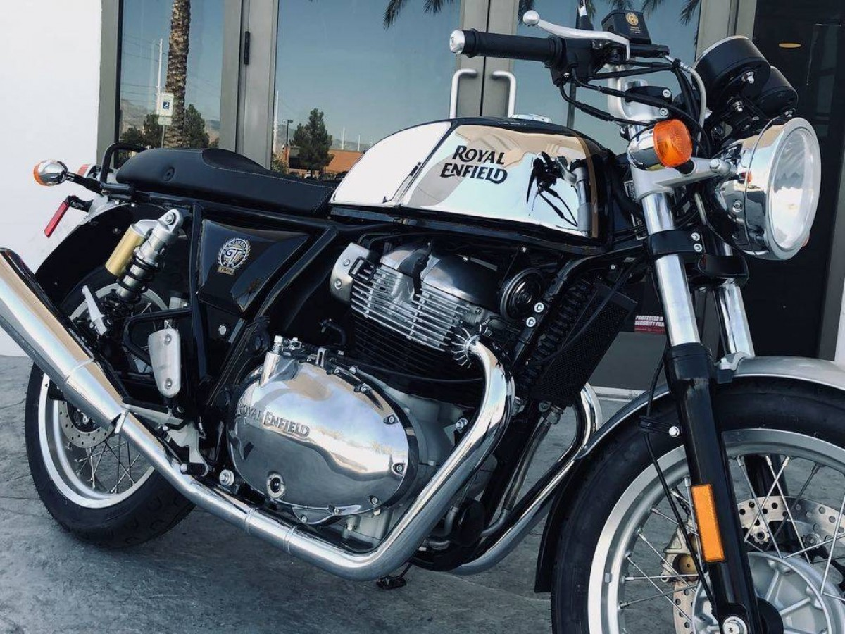 2020 Royal Enfield Continental GT 650 Twin (Mister Clean, Chrome)
