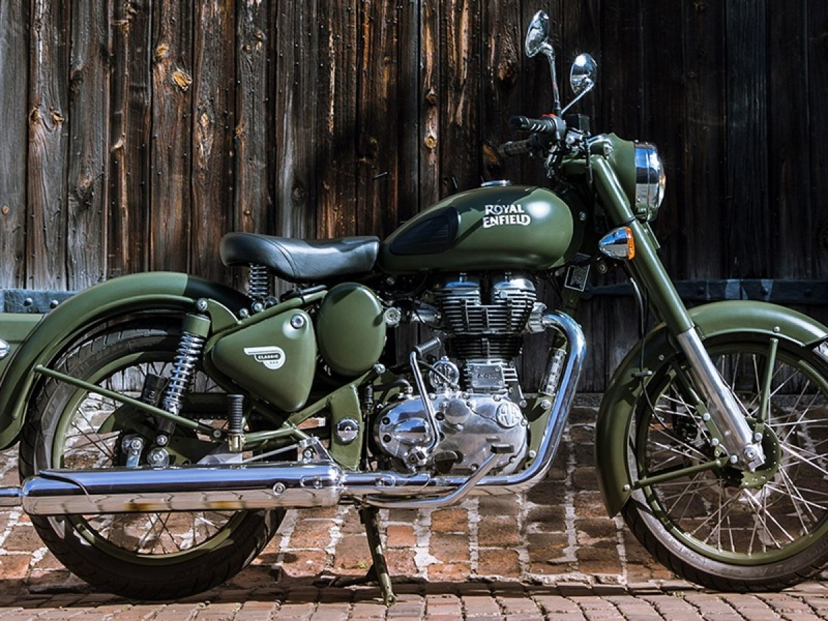 Royal Enfield Classic Military 2020