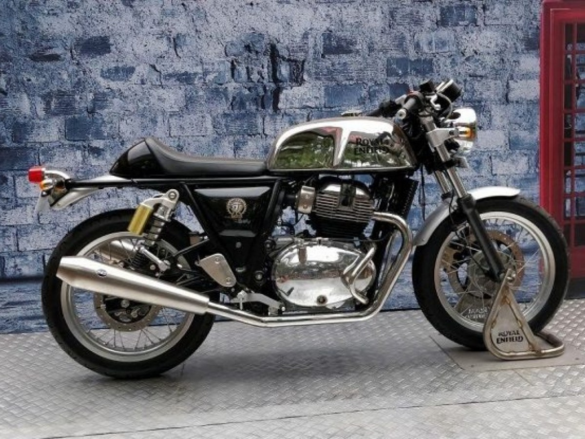 Royal Enfield Continental GT 650 Twin Chrome 2021