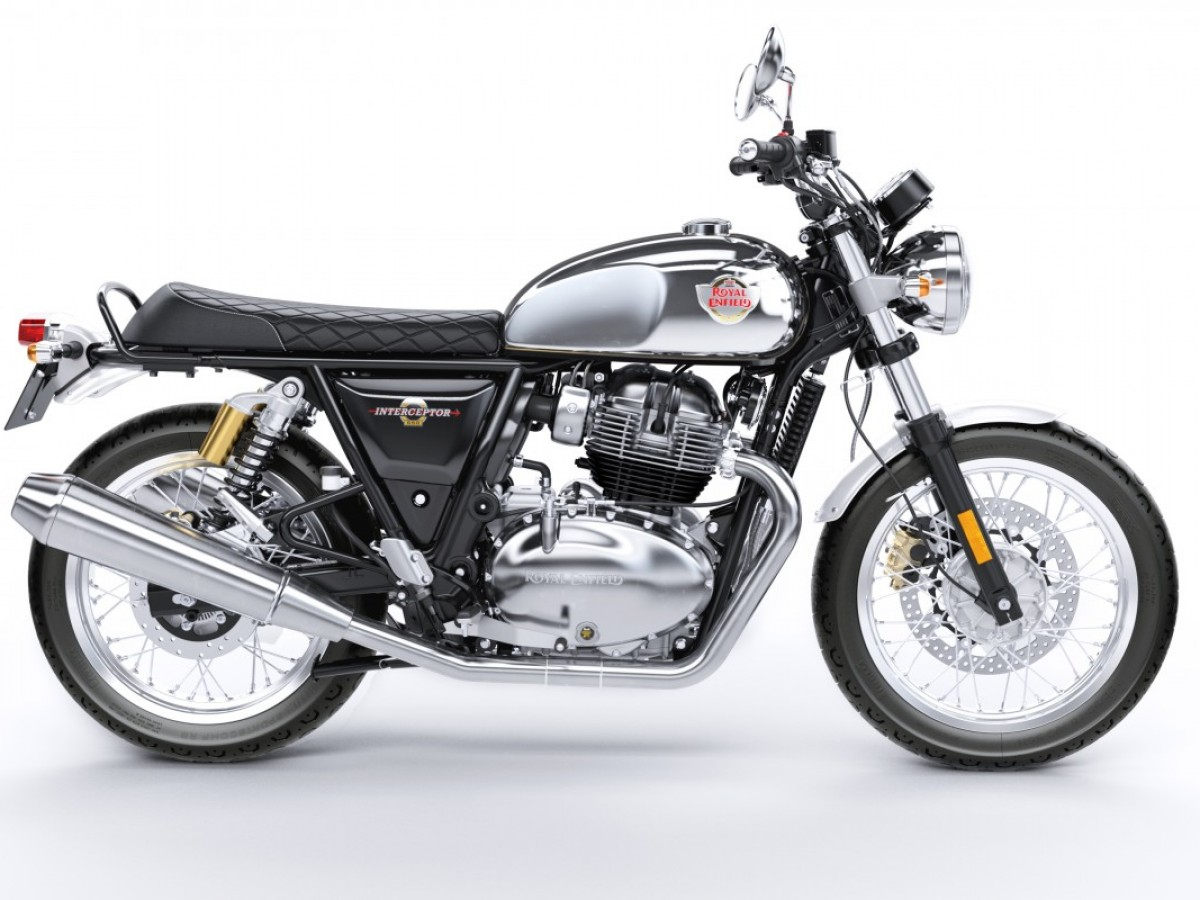 Royal Enfield Interceptor INT 650 Twin Chrome 2020