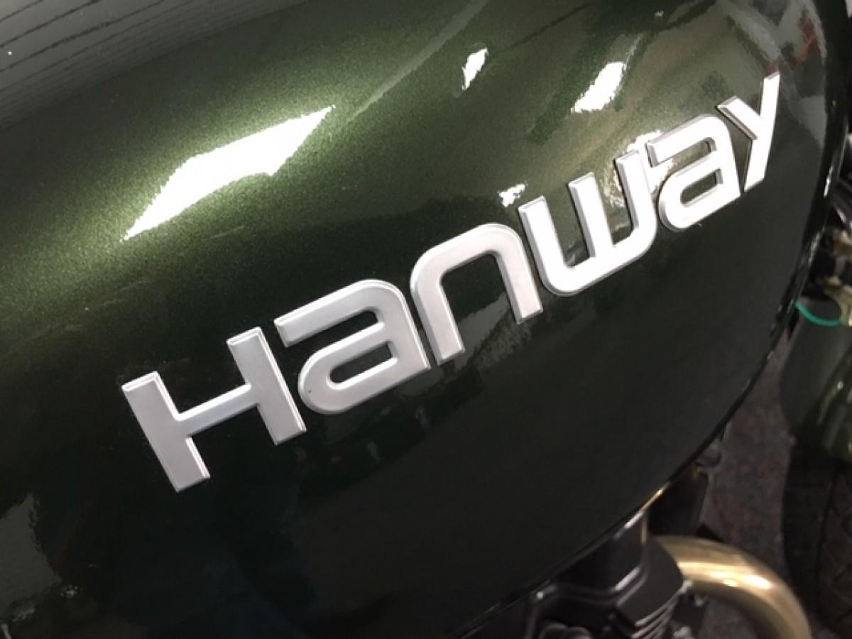 HANWAY HC 125 CAFE RACER E4 2017