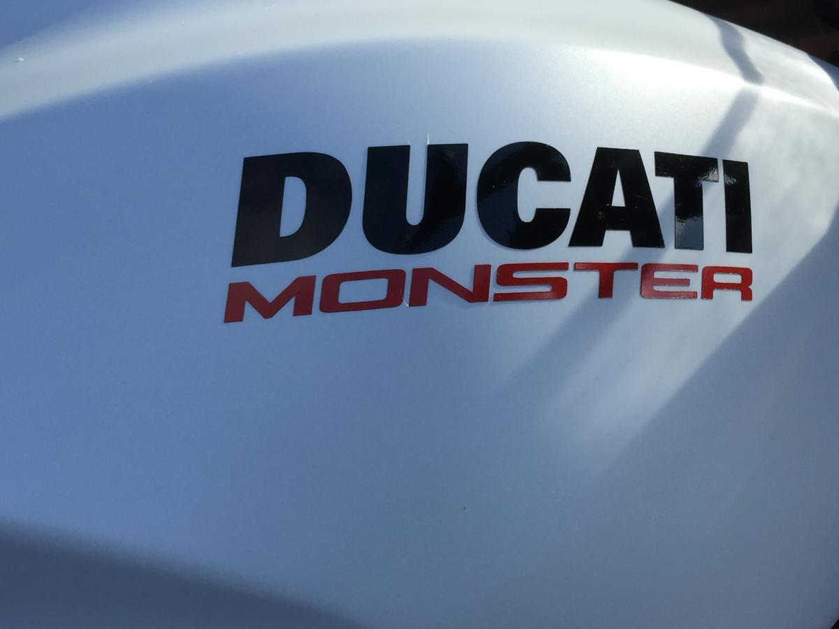 DUCATI MONSTER 797 + 2017