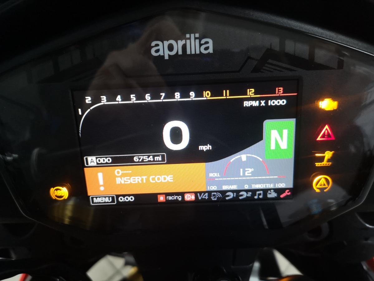 Aprilia TUONO V4 1100 FACTOR 2018