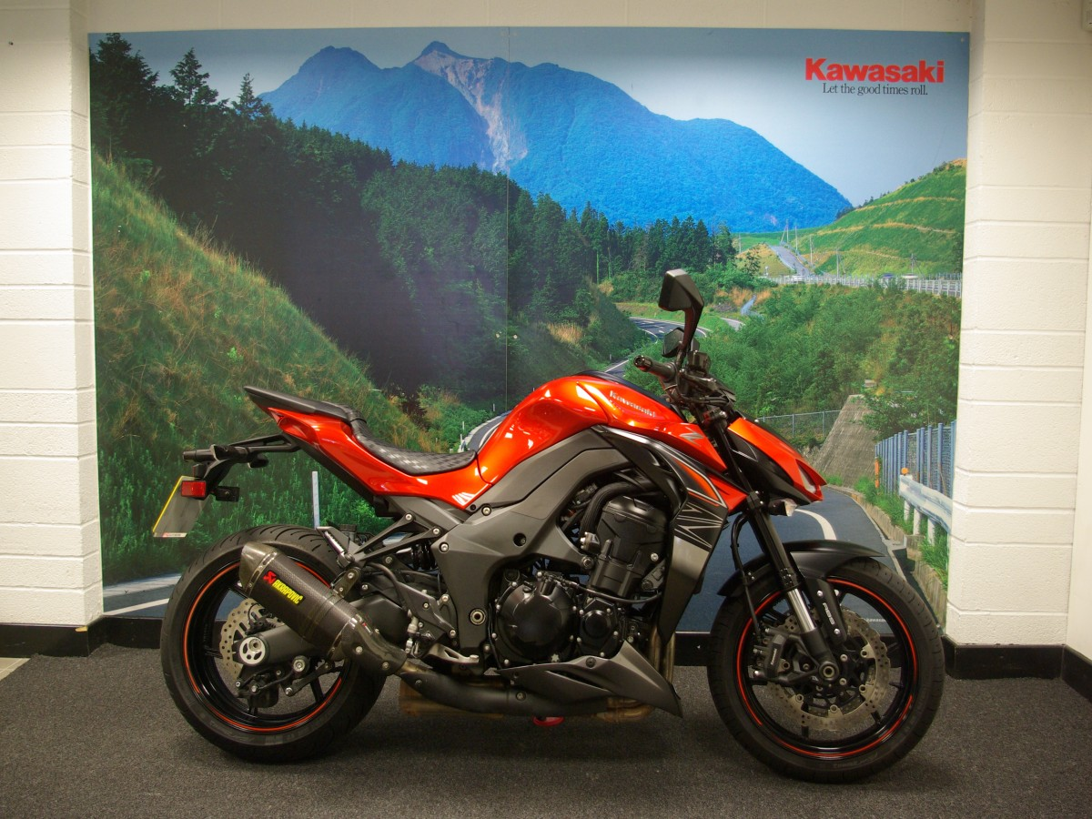 Buy Online KAWASAKI Z1000 ABS WITH AKROPOVIC CANS