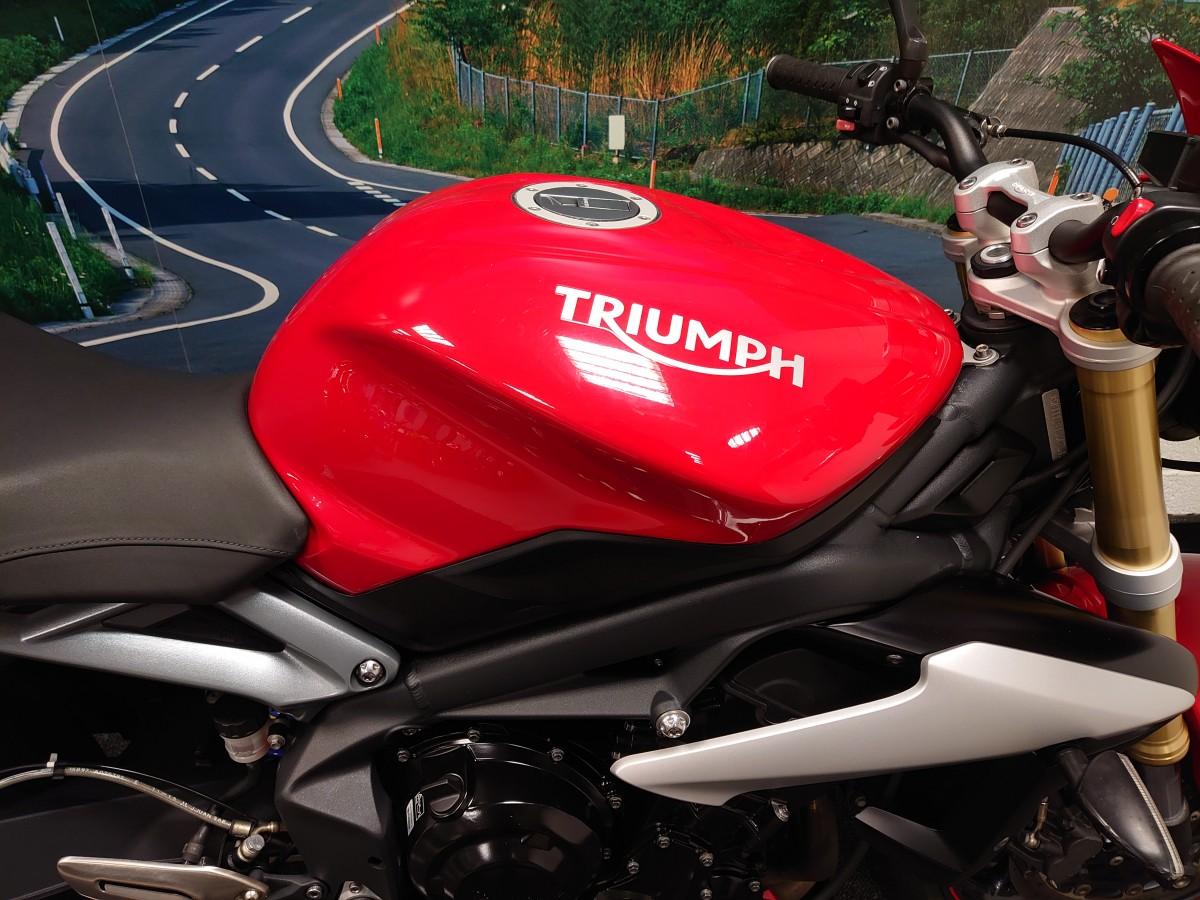 TRIUMPH STREET TRIPLE 675 70KW 2016