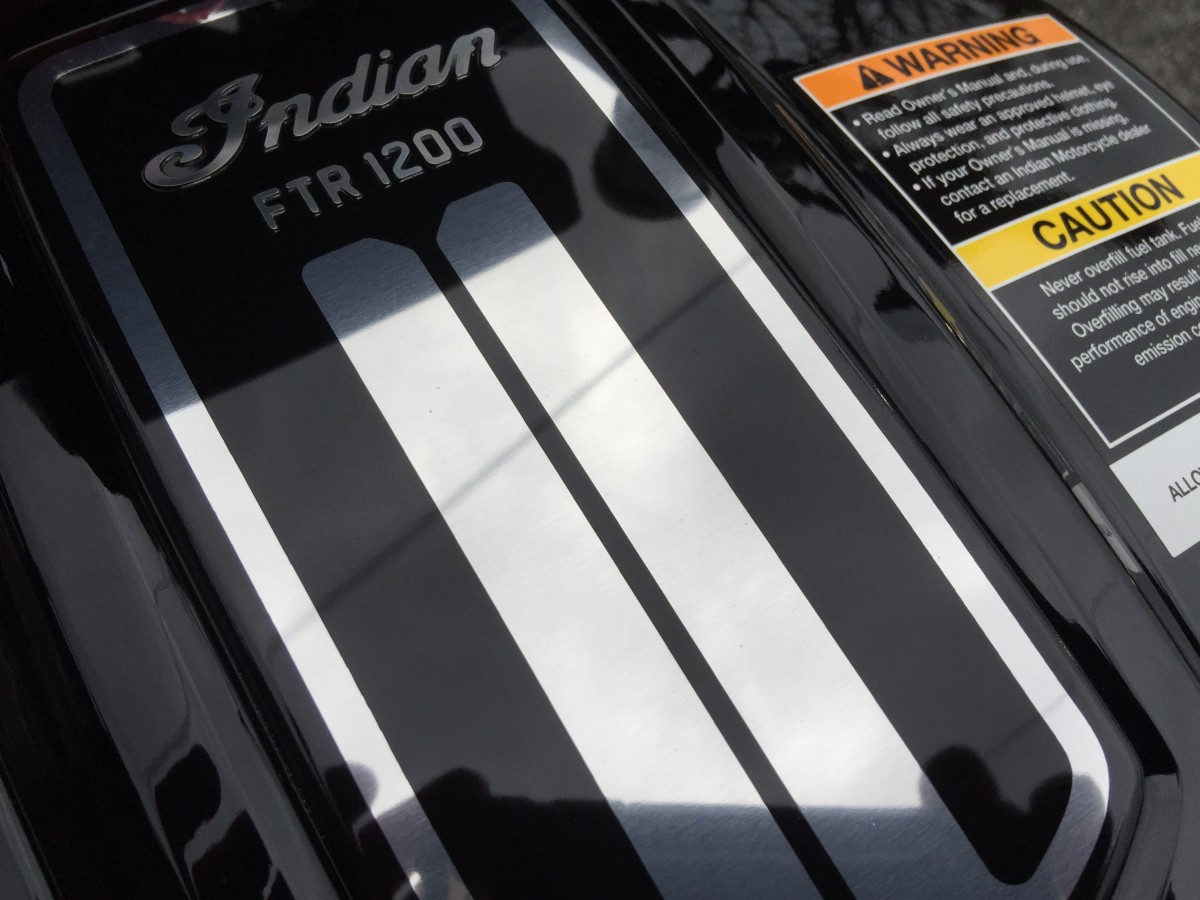 INDIAN FTR1200S RACE AKRAPOVIC 2019