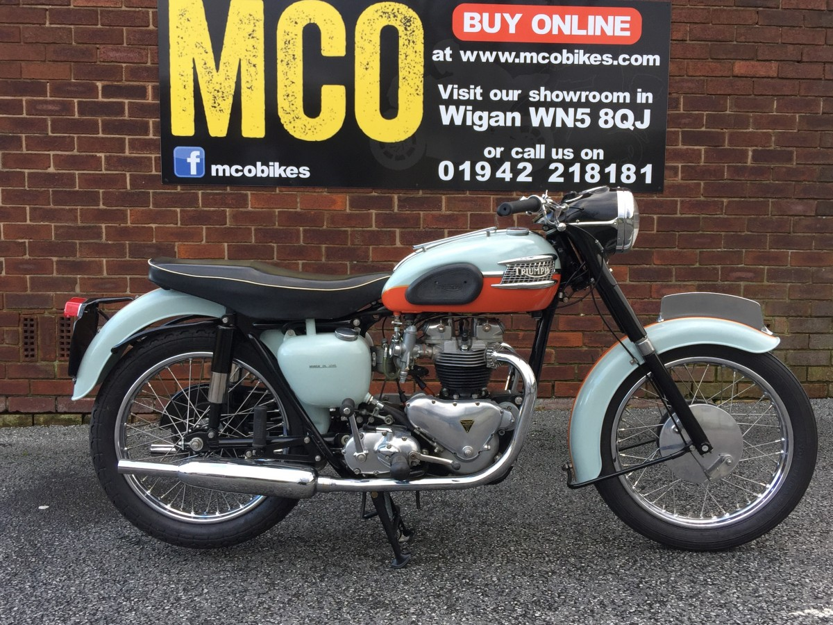 Buy Online TRIUMPH BONNEVILLE T120 Tangerine Dream