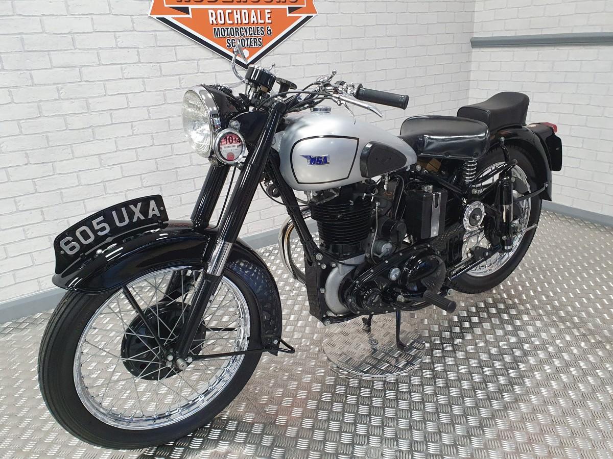 BSA M33 1952