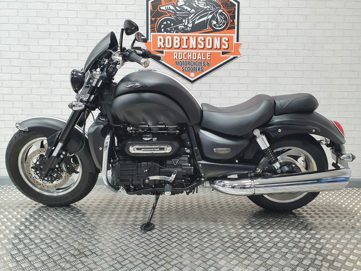 Triumph Rocket 111 Roadster 2016