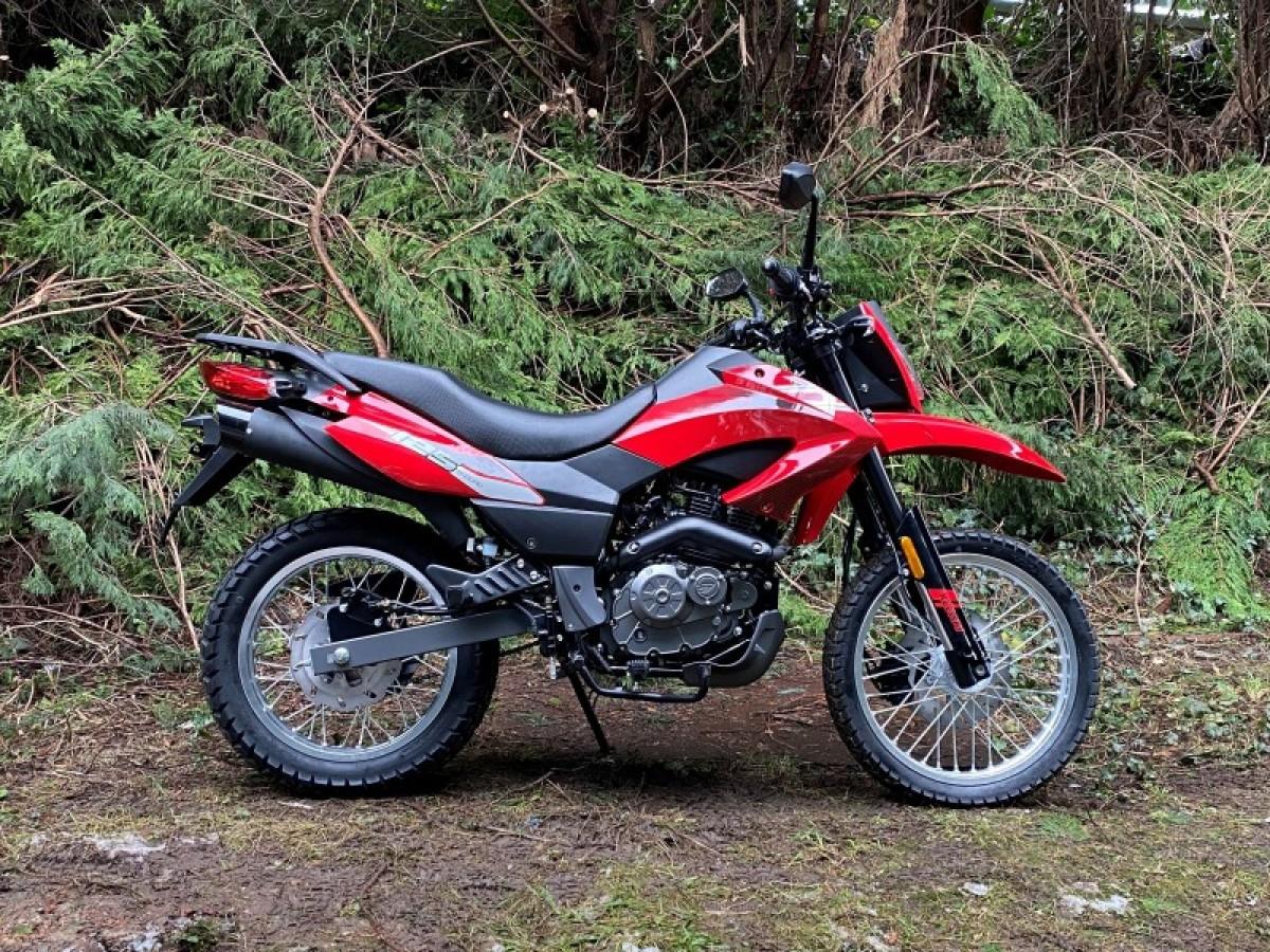 2021 Keeway TX 125cc E4 Enduro