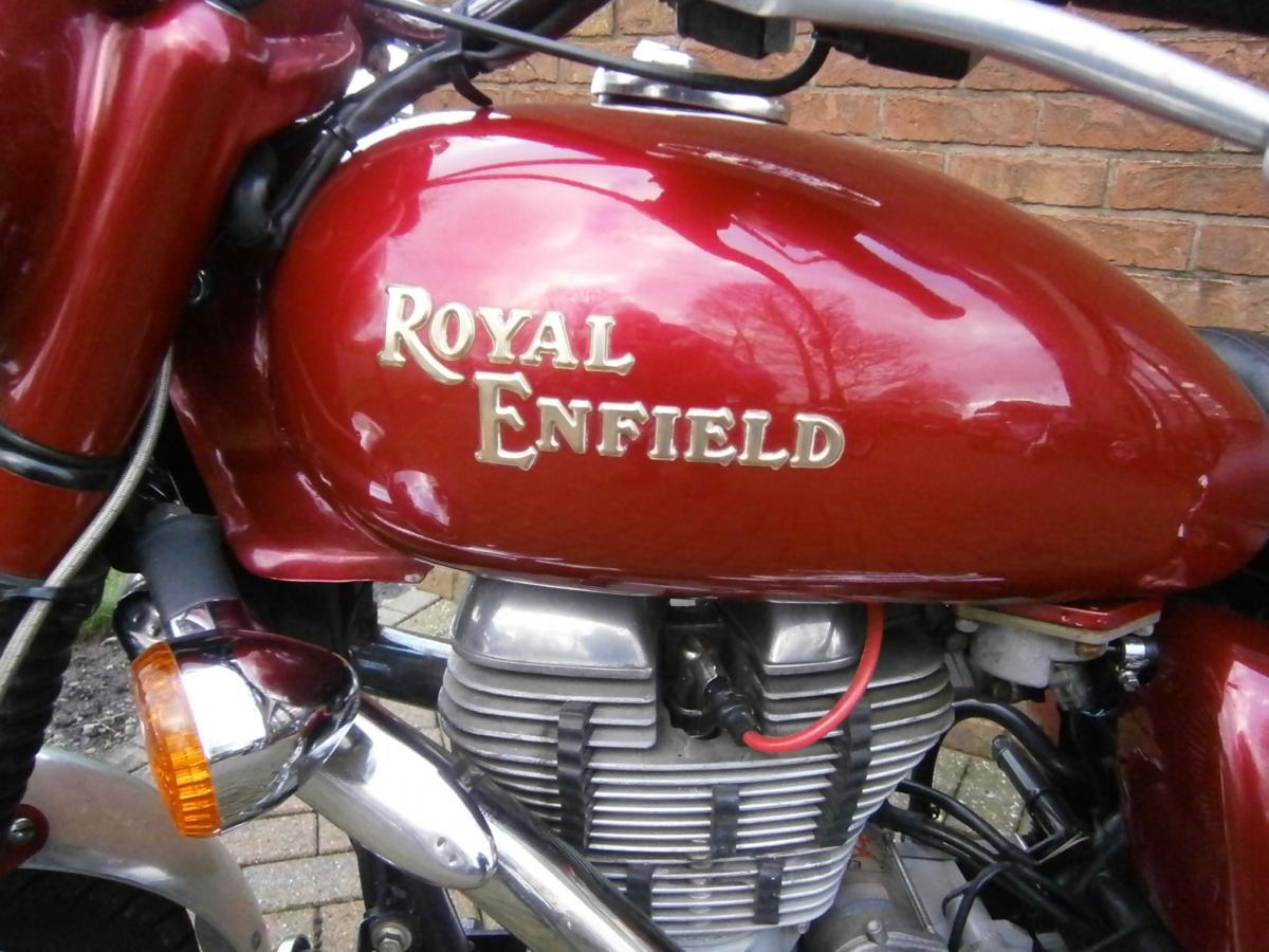 ROYAL ENFIELD BULLET WOODSMAN 2010