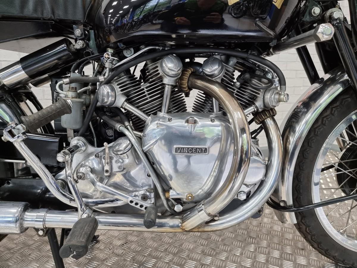 Vincent Series C Rapide 1952
