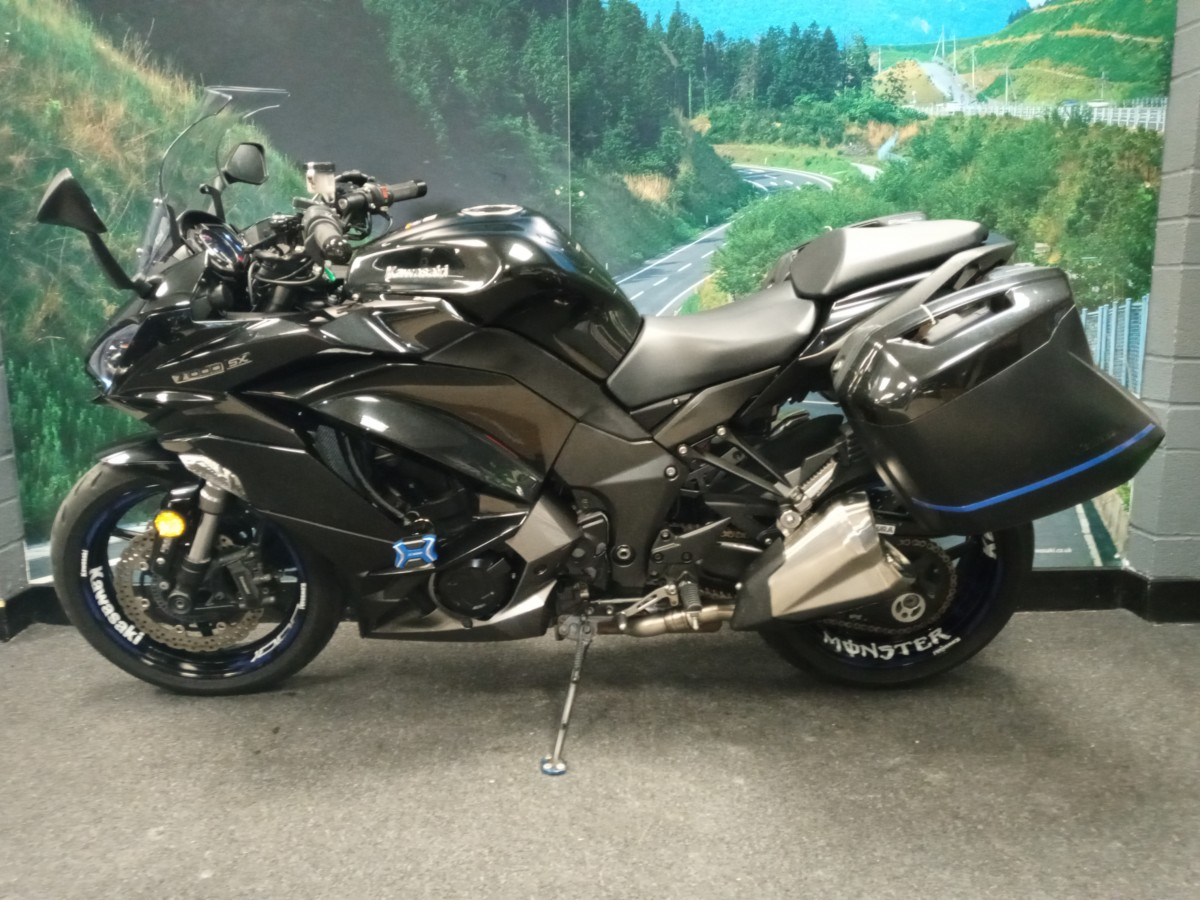 Kawasaki Z1000SX TOURER ZX1000WJF 2018