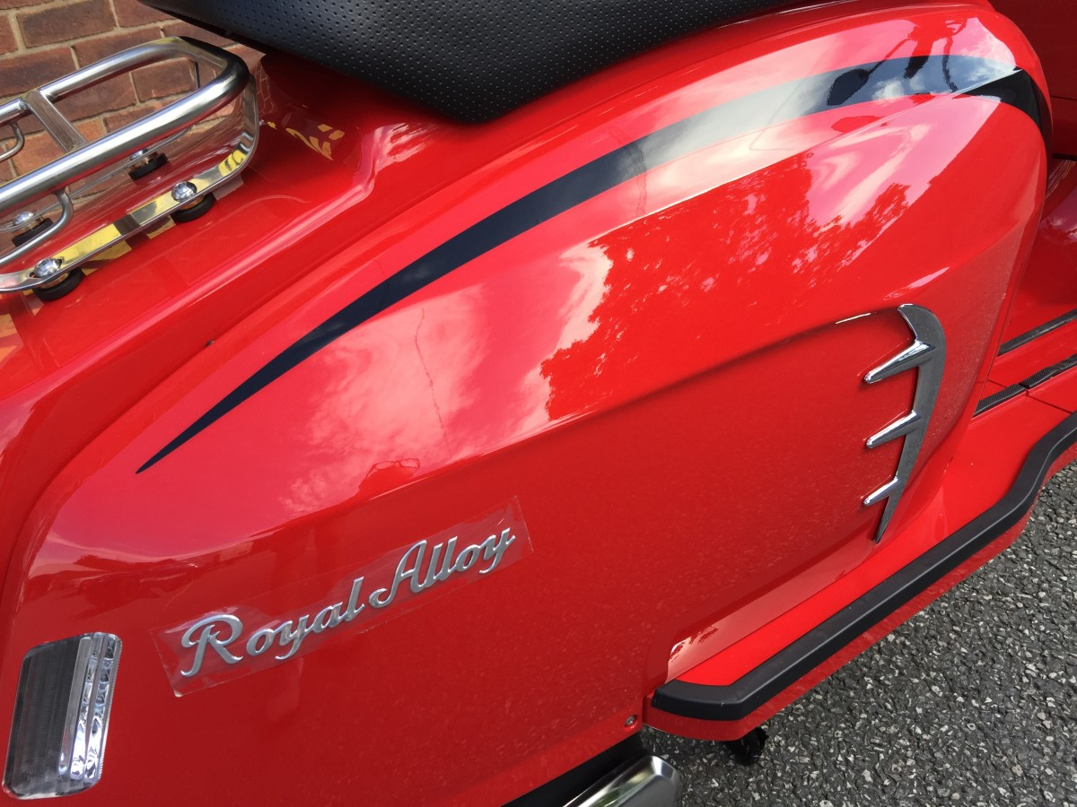 Royal Alloy GT125 AC CBS E5 2021