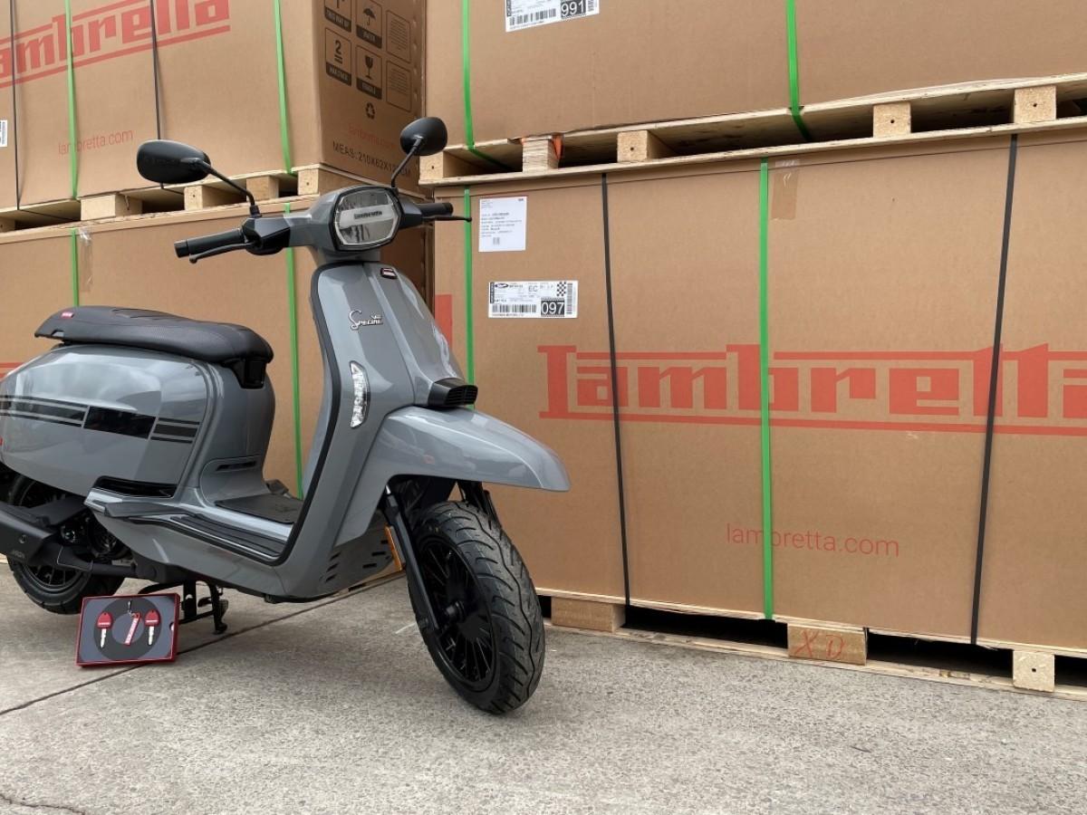 Lambretta V 125 Special E5 2021