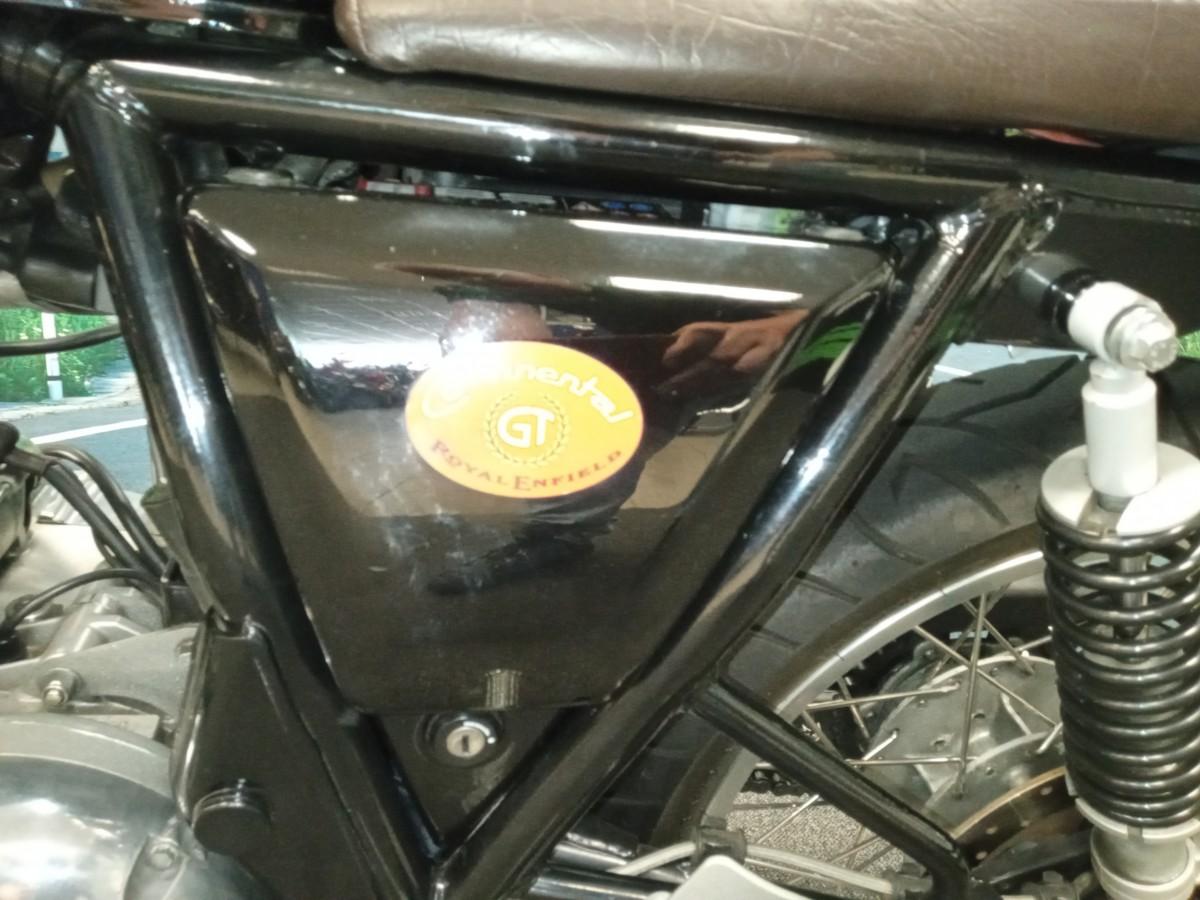 ROYAL ENFIELD CONTINENTAL GT 535 2015