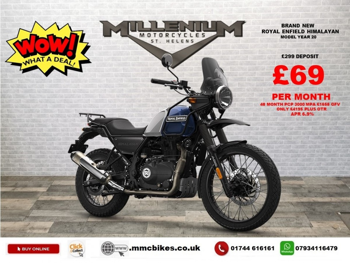 Buy Online Royal Enfield Himalayan - FREE PANNIERS OFFER