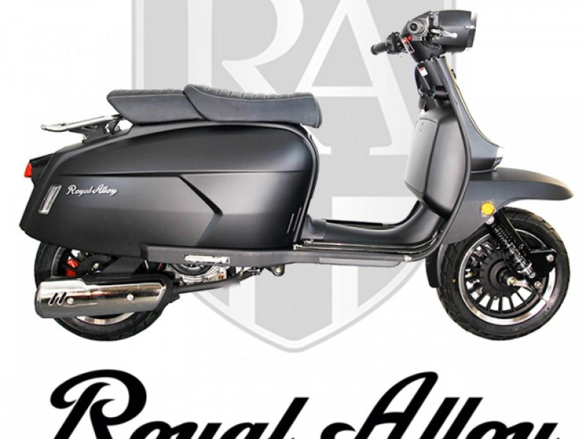 ROYAL ALLOY GP 125cc CBS 2021