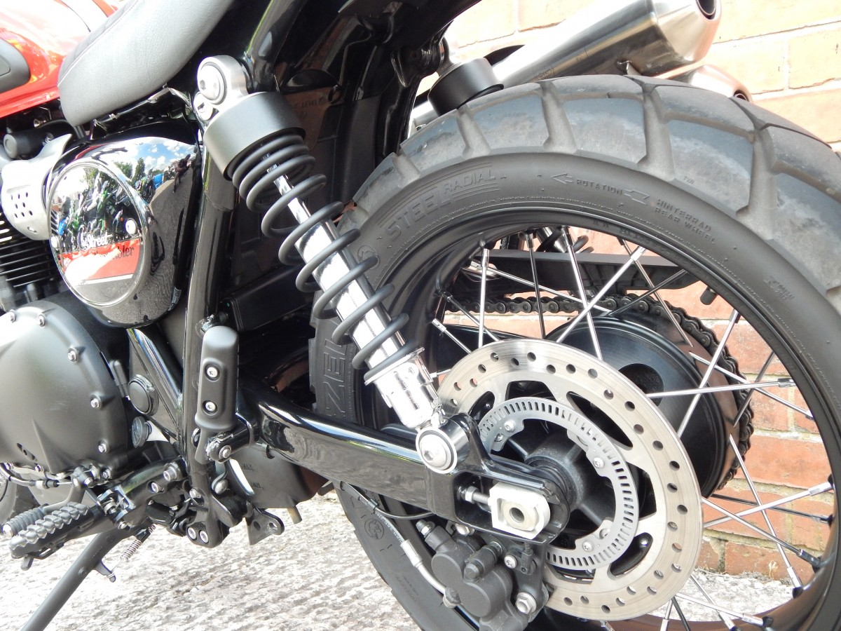 TRIUMPH Street Scrambler Retro 900cc 2018