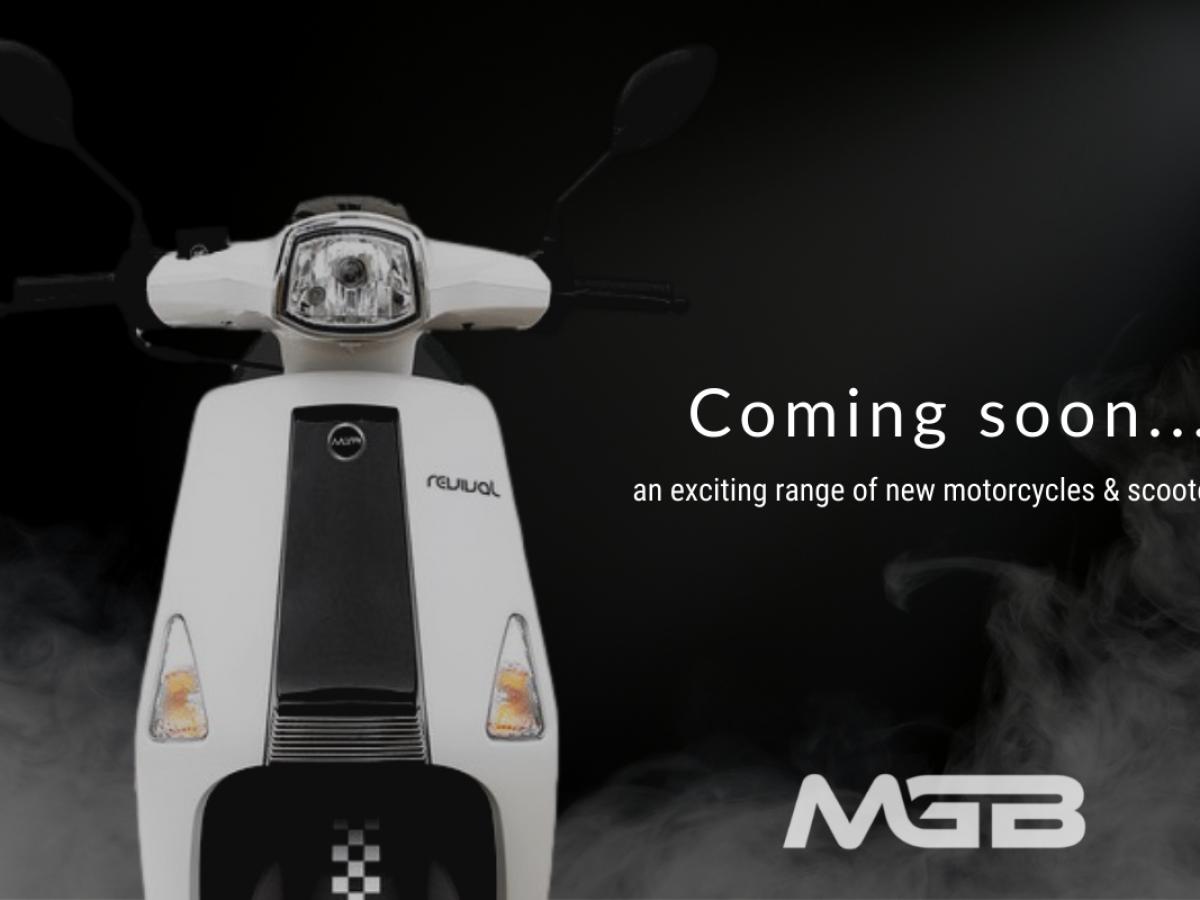 Buy Online MGB Revival 50cc