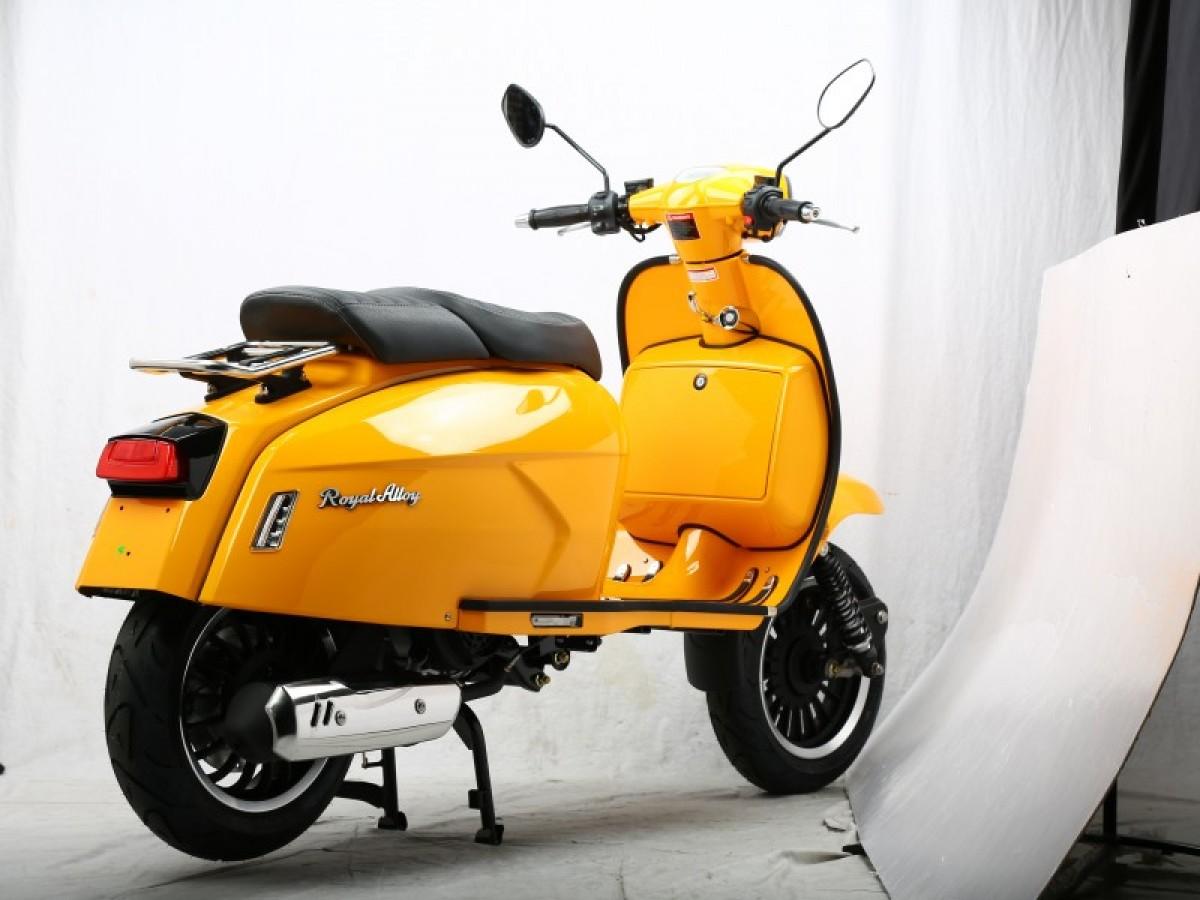 Royal Alloy GP 125cc CBS AC Euro 5 2021