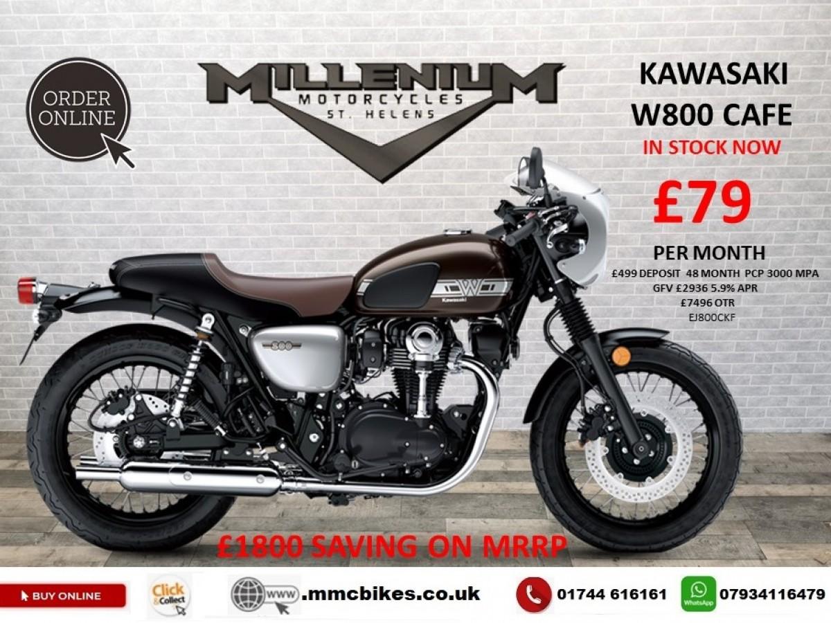 Buy Online Kawasaki W800 Cafe