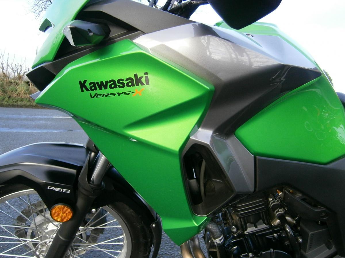 KAWASAKI KLE V300 CHF 2017