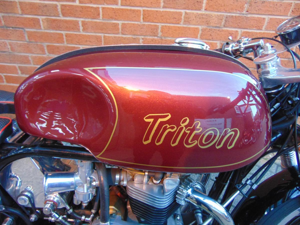 Norton Triton Cafe 750 1970
