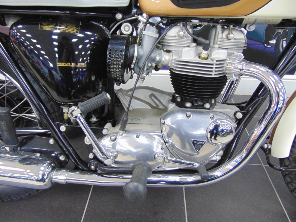 Triumph Bonneville T120R 1964
