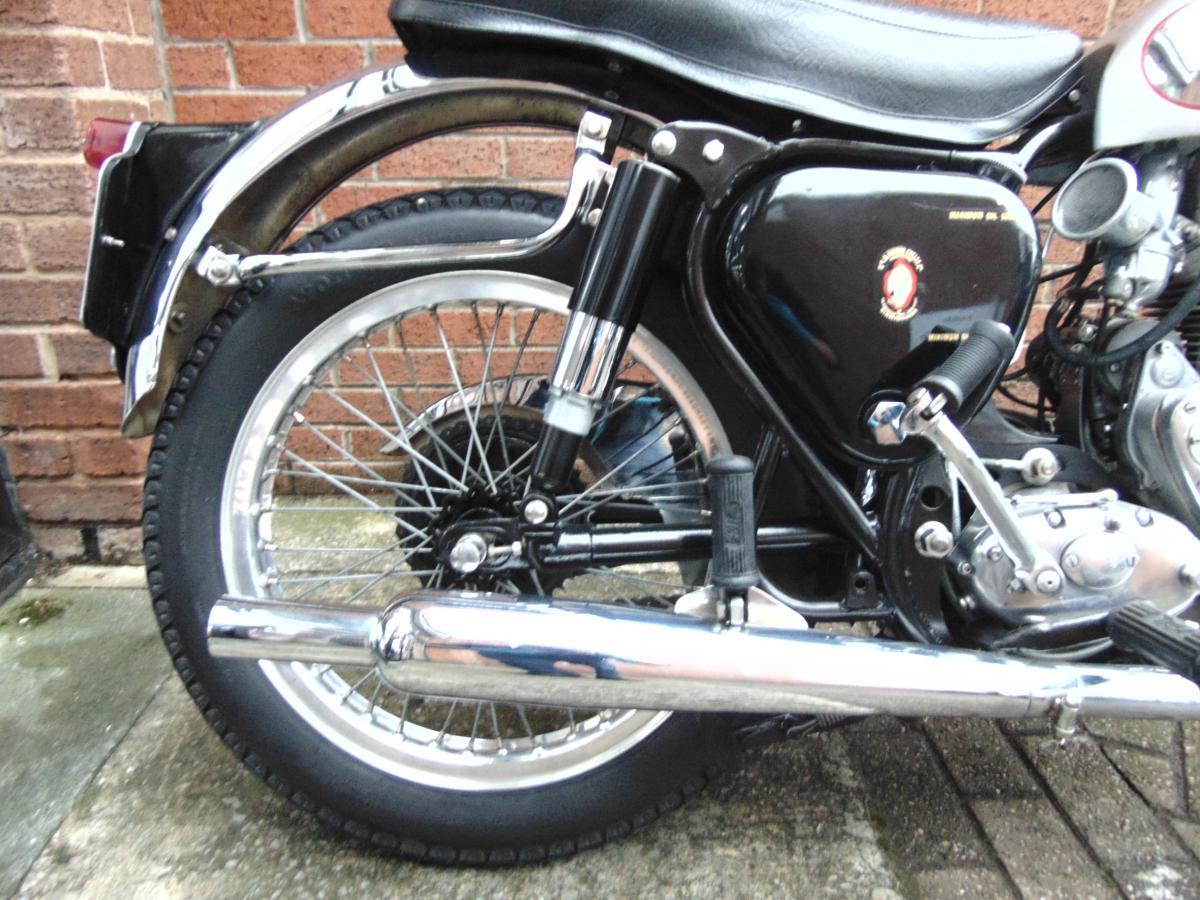 BSA GOLDSTAR 350 1955